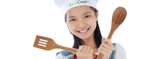 Kids cook with EcoCheph